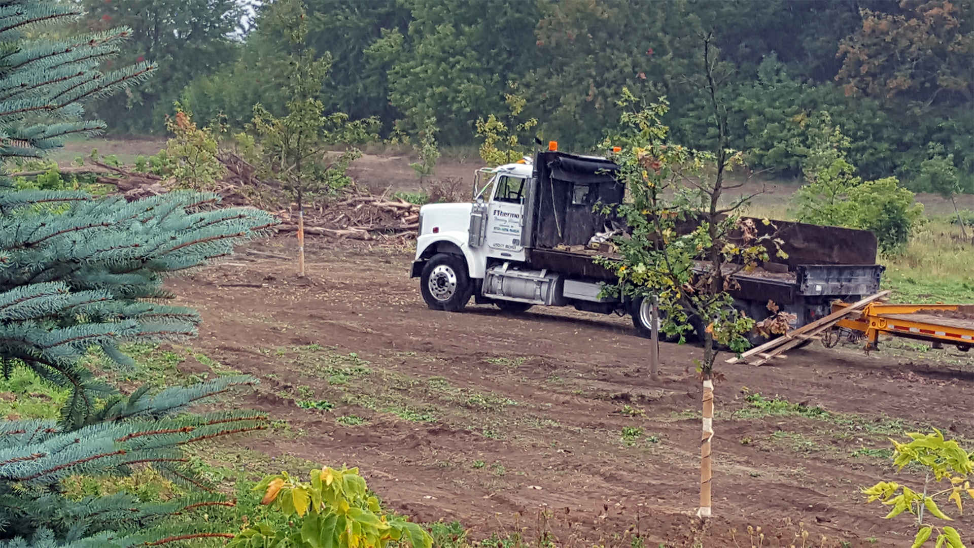 Commercial Landscaping truck